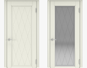 Classic interior doors 06 3D model