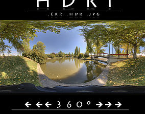 3D HDR 10 PARK LAKE