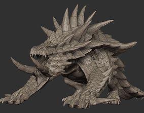 3D model Akantor from Monster Hunter Zbrush Highpoly