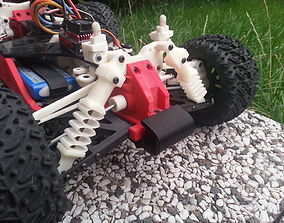OpenRC car shocks 3D print model