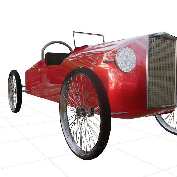 CycleKart First Car modelling