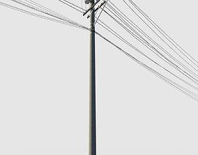 3D model Power Pole Street