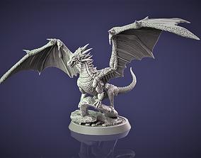 Dragon 3D print model 3D print model beast