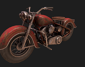 3D model realtime motorcycle