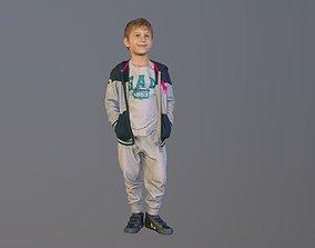 3D No149 - Cool Boy Standing
