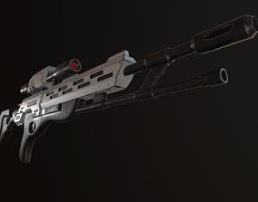 3D model Viper sniper rifle