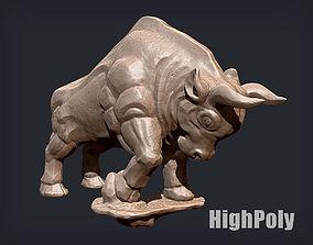 Anger Stone Bull 3D Printing