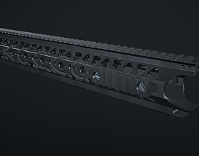 3D asset Handguard LVOA 16 inch