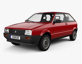 Seat Ibiza 3-door 1984 3D
