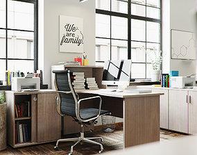 Office furniture room 3D