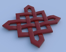 3D printable model Celtik cross knot