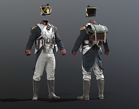 SOLDIER Grande Armee French 3D model