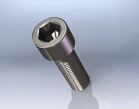 3D model Allen screws