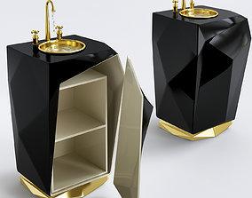 3D model Stunning Standing Washbasins By Maison Valentina