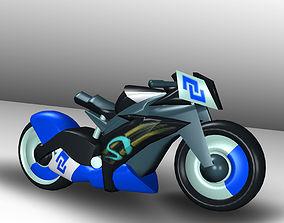 3D asset Futuristic Bikes