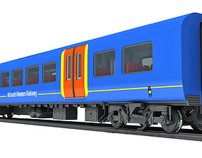 3D model South West Rail Class Passenger Car