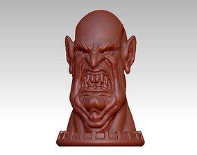 3D print model sculptures demon head