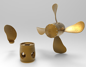 3D Variable Pitch Propeller using solidworks CPP