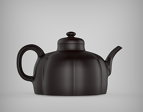 Chinese Classic Purple Sand Clay Teapot 2 with 3D model 1