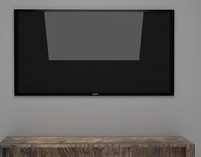 SONY LED TV 3D model