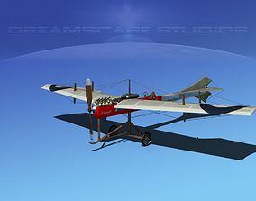 Antoinette Monoplane V02 3D model