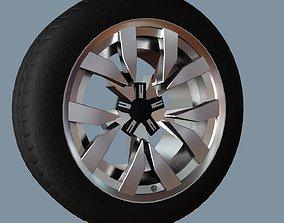 3D model realtime AS rims collection 6 - VW Montero