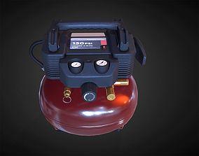3D asset Hend Held Air Compressor - PBR