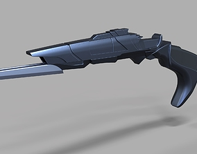 3D print model Klingon Disruptor from the movie Star Trek