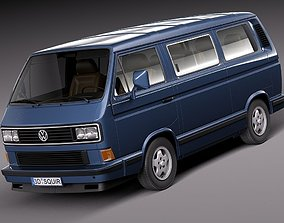 3D Volkswagen T3 Limited Last Edition 2002
