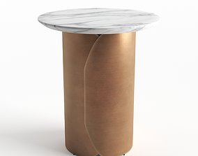 3D Copper Side Table
