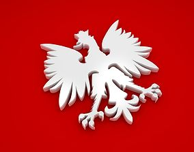 3D model Polish Eagle