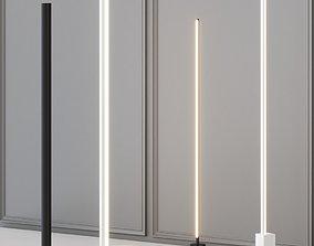 3D Floor lamps Set 1