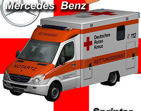 Mercedes-Benz Sprinter Medical 3D asset