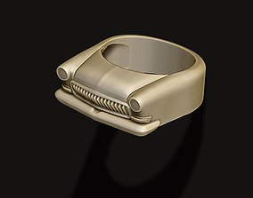 3D print model car ring 5