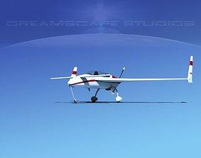 3D Rutan Long-EZ V05
