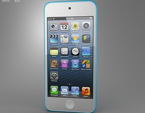 3D model Apple iPod Touch 5th generation 2012