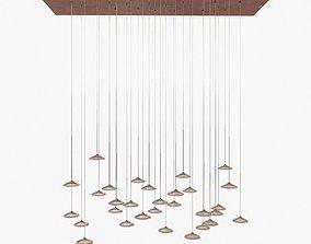 artemide orsa ceiling light 3D model