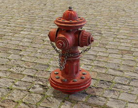 normal Fire Hydrant 3D model