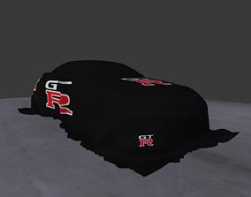 Car Cover - Nissan GTR R35 Spec-V 2010 3D model