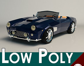 3D model Low Poly Roadster