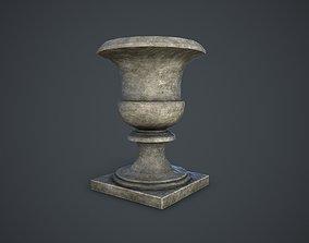 garden 3D model VR / AR ready Flower Pot