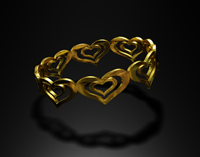 fortune 3D printable model Love Ring