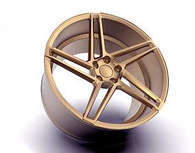 Artform AF601 Wheel Rim Print Ready 3D model
