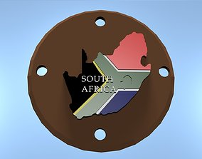 SOUTH AFRICA 3D print model