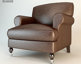 3D Barbara Barry BB13-03 Grace Lounge Chair