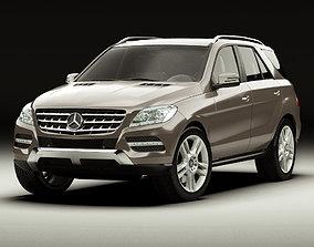 Mercedes M-class 2012 W166 3D model