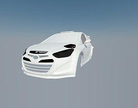 Hyunday i20 WRC 3D print model