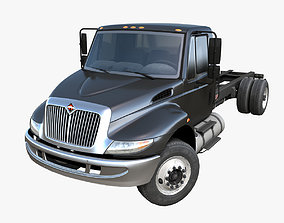 3D model International Durastar frame truck