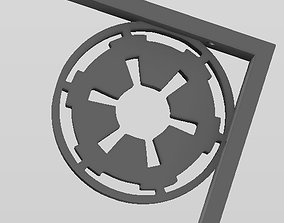 Star Wars theme Shelf bracket 3D printable model
