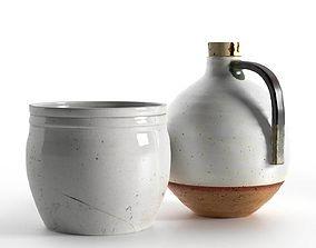 3D designer Pot and Jug